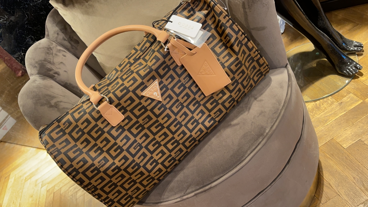 Guess travelbag brown