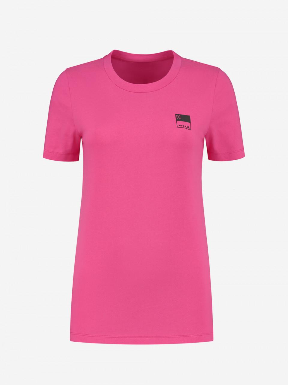 NIKKIE LOUNGEWEAR T-SHIRT MET NIKKIE-LOGO NIKKIE N T-SHIRT Pink