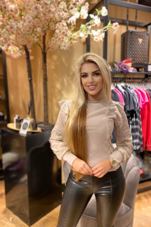 Blouse Kiki blouse Beige