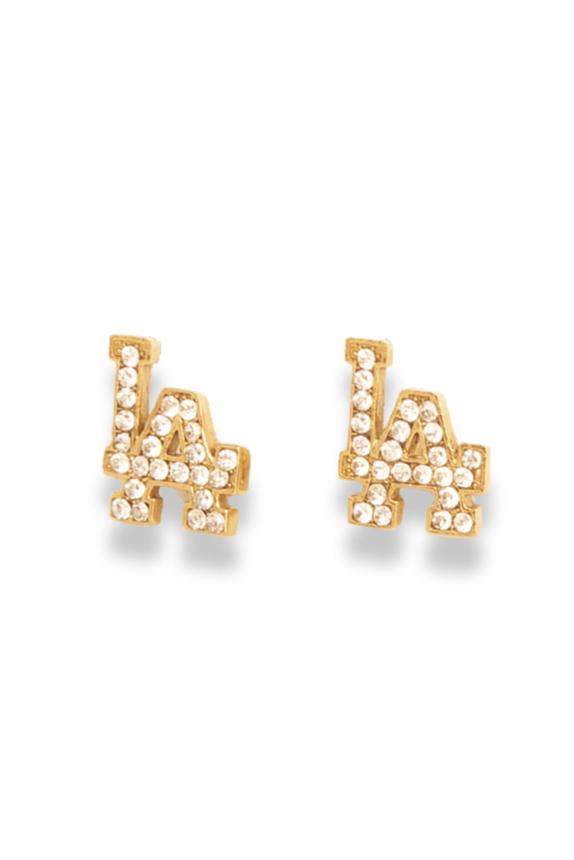 LA SISTERS DIAMOND EARRINGS NEW