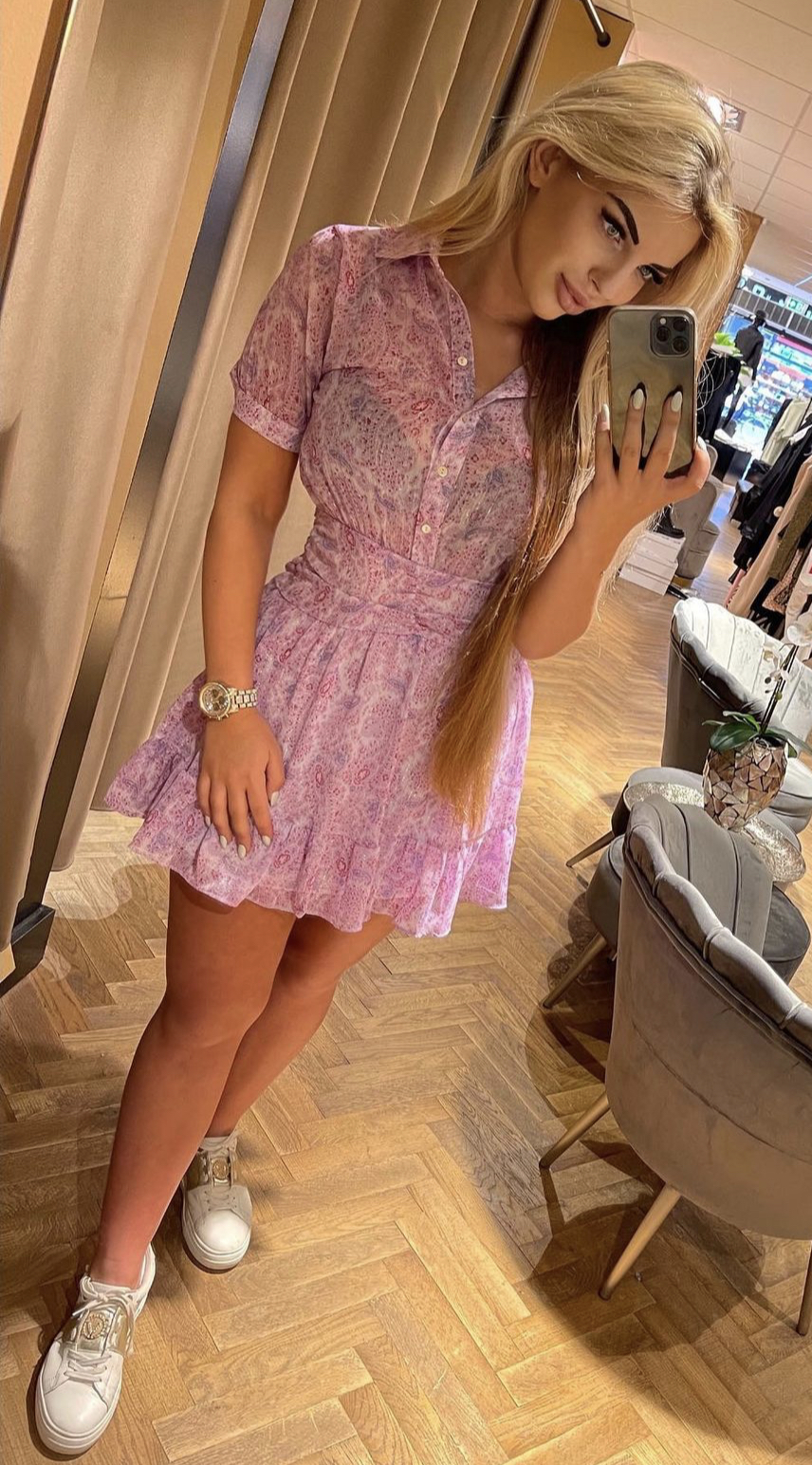 Sofia Dress LILA  💜New