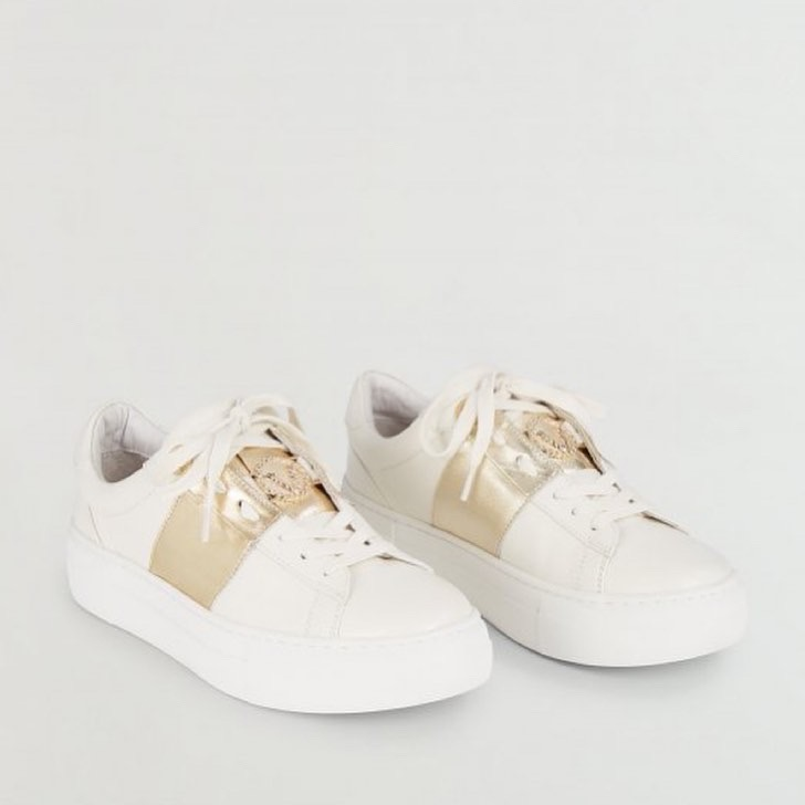 € 149,99 JV LESLIE Sneaker – off white / gold