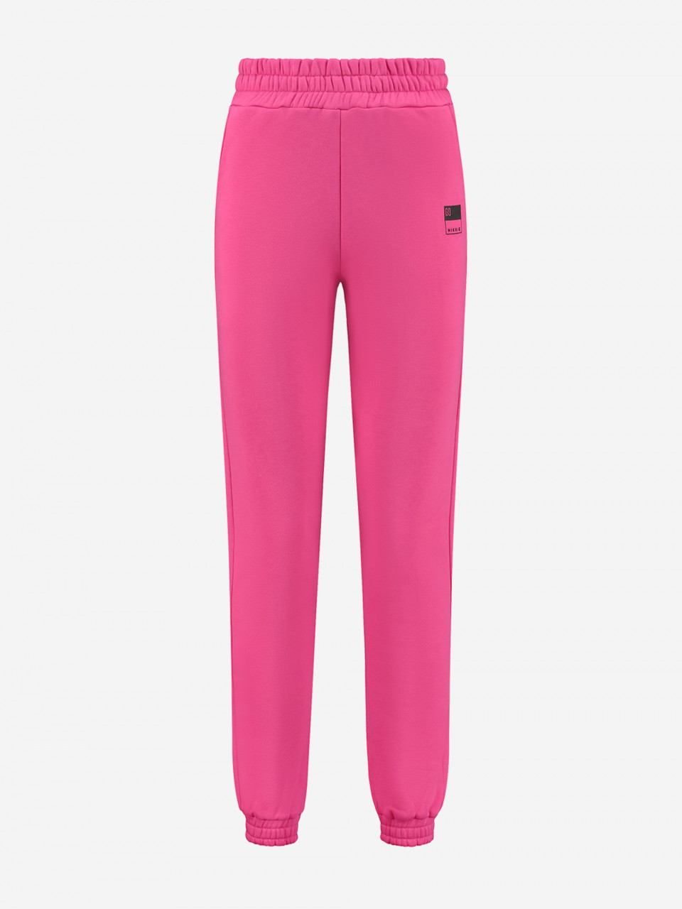 NIKKIE LOUNGEWEAR SWEATPANTS MET NIKKIE-LOGO HIGH WAIST SWEATPANTS Pink