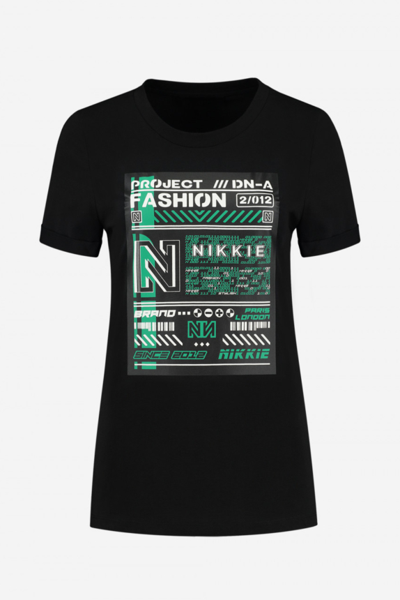 NIKKIE T-SHIRT WITH ARTWORK FUTURE PROJECT T-SHIRT