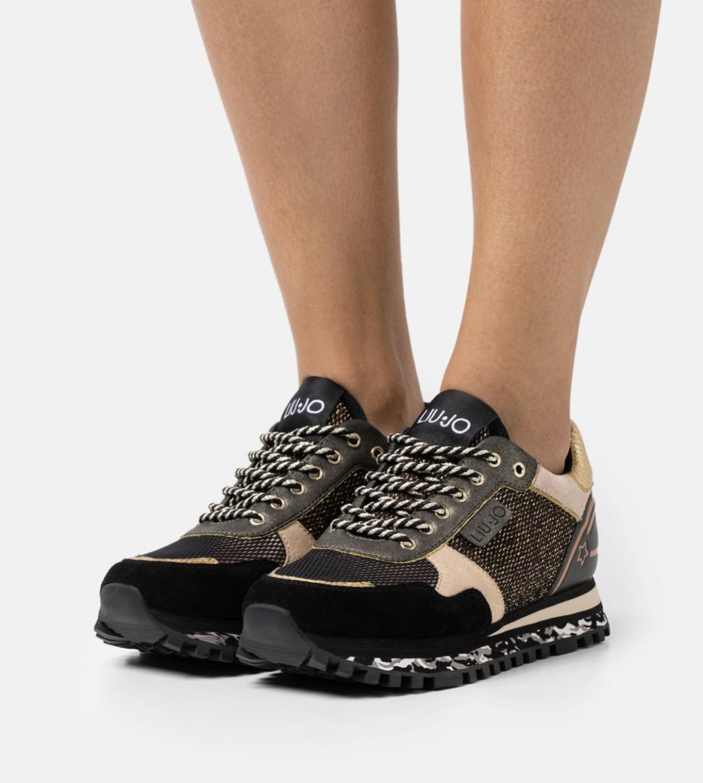 Liu Jo Jeans Sneakers laag multi colour New