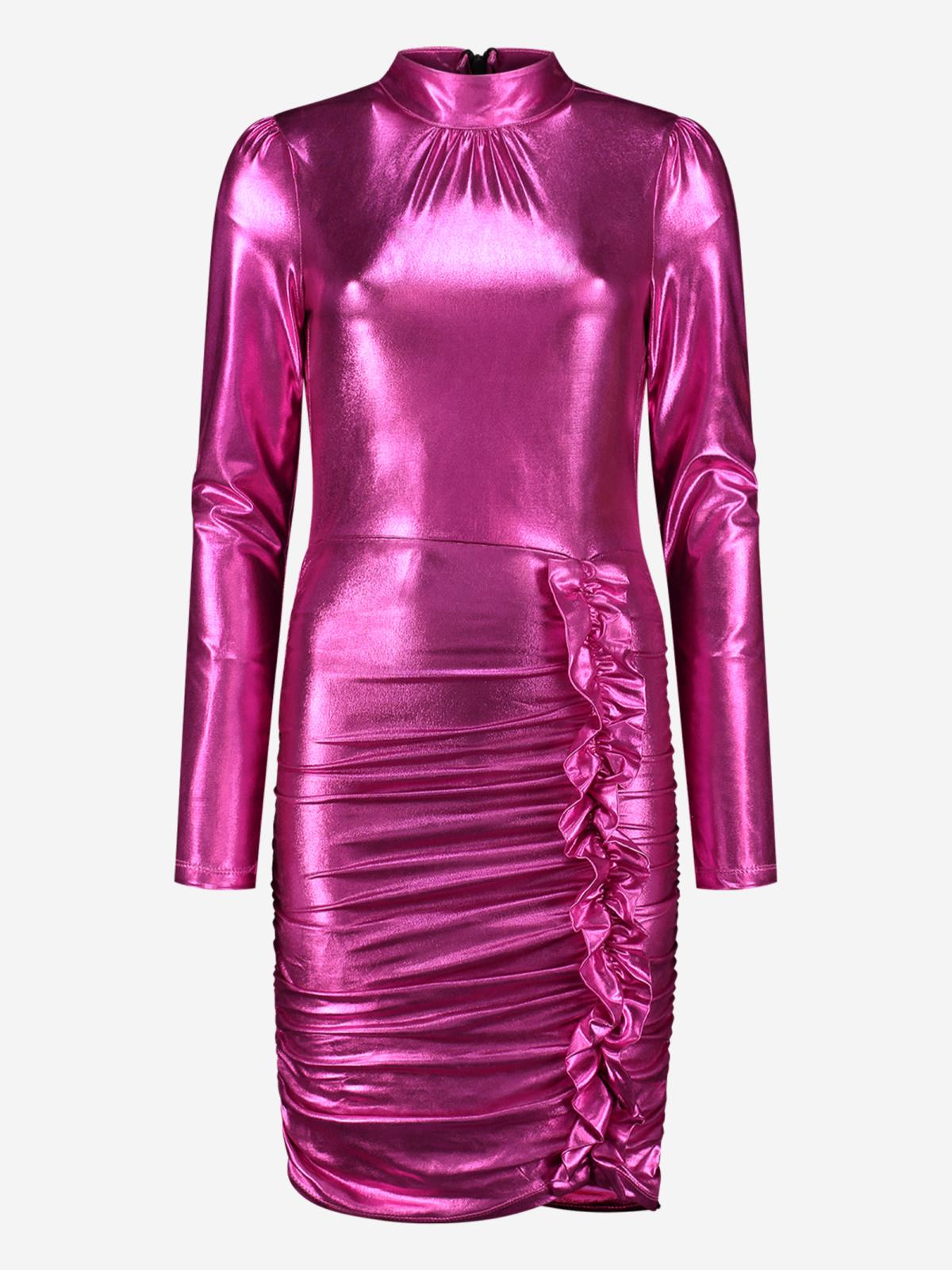 NIKKIE Pink Lame Dress NEW 👗