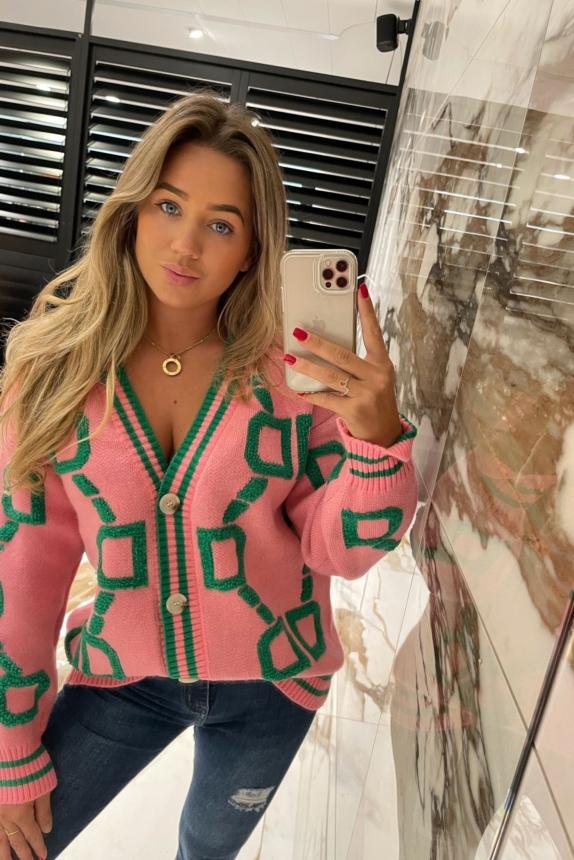 lolita Vest multi pink green 💚new one size 😍BESTSELLER