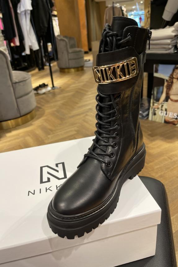 NIKKIE LYNN BOOTS ZWART