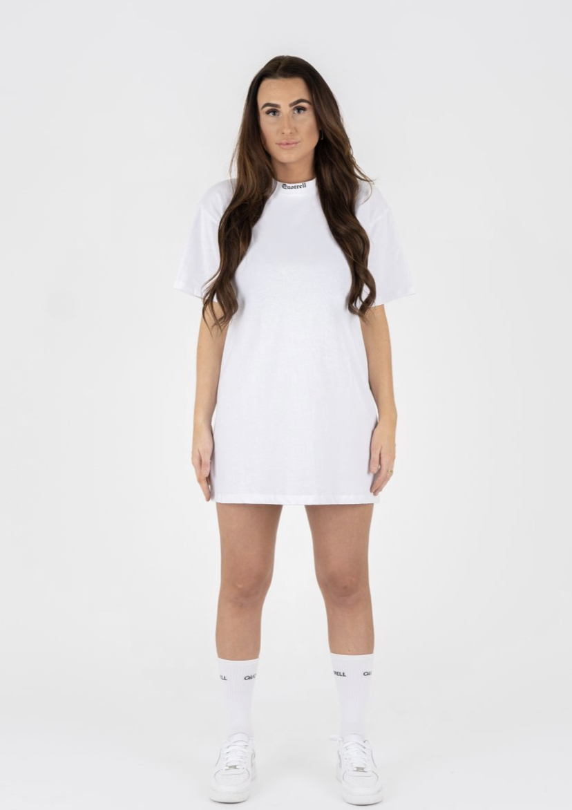QUETRELL MIAMI LONG T-SHIRT | WHITE