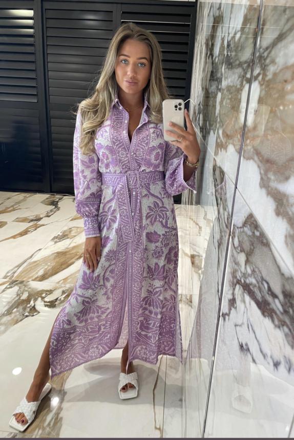Lynka Dress  NEW Lila