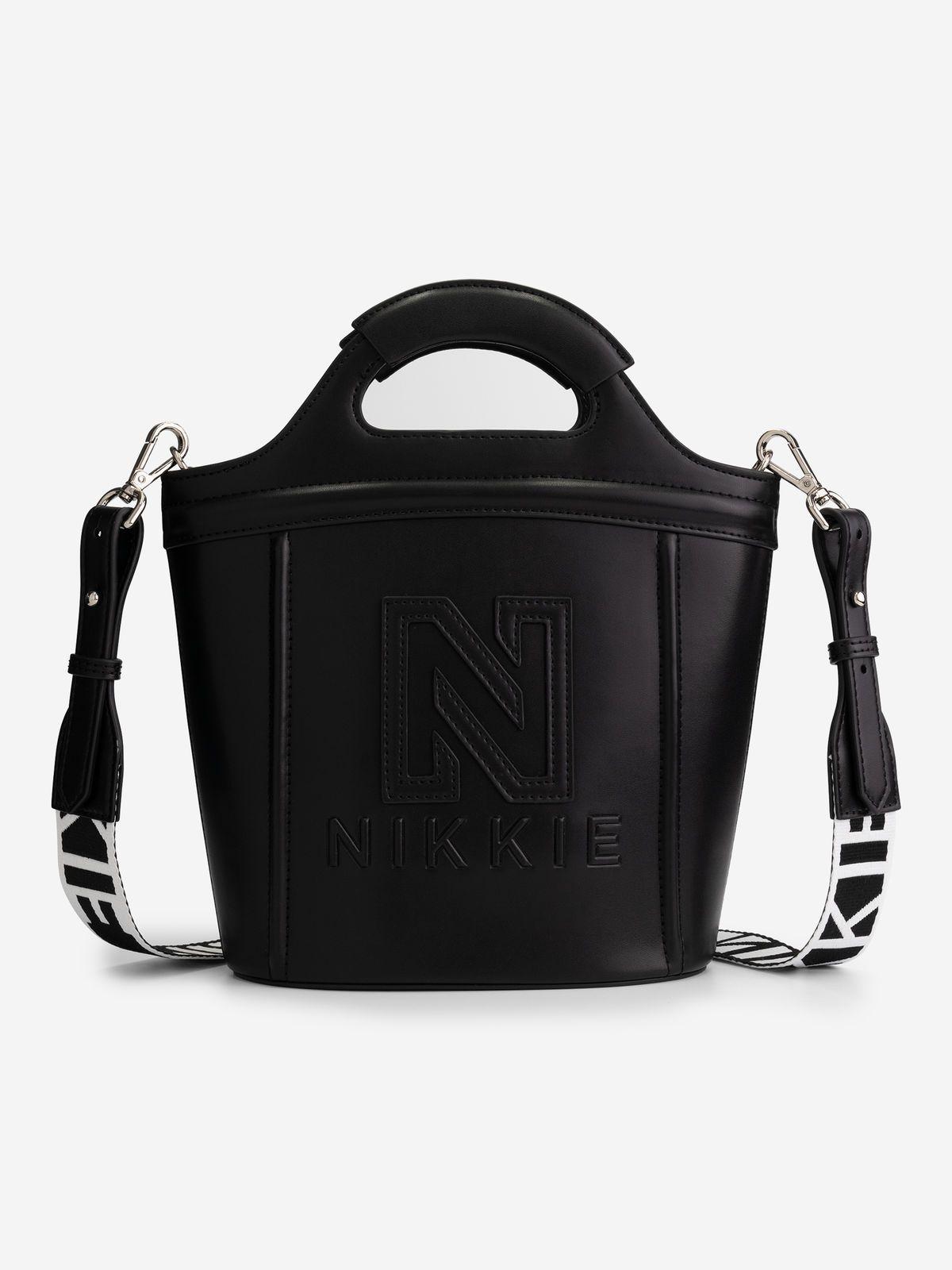 NIKKIE  POLLY RUBER BAG BLACK