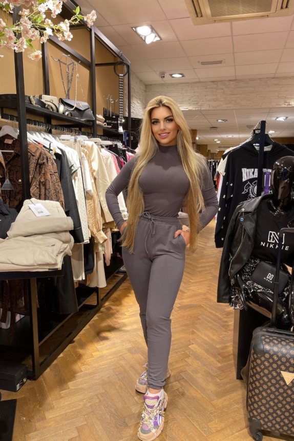 UNIQUE THE LABEL JOGGING SET bodysuit+jogger