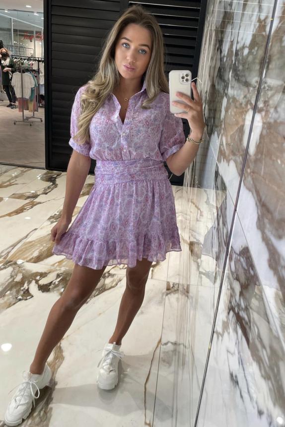 Sofia Dress justdai lila New