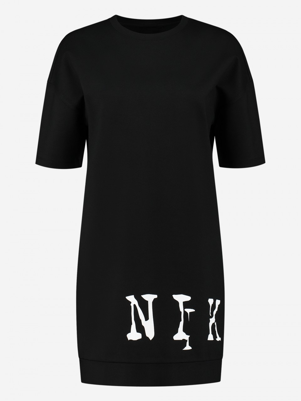 NIKKIE DRESS WITH NIKKIE LOGO BIG LOGO PUNTA DRESS