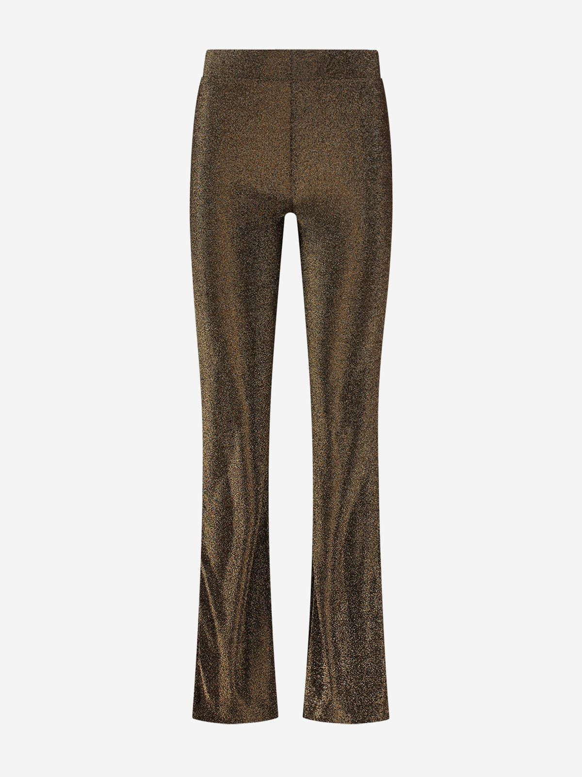 NIKKIE  SPARKLING FLAIR PANTS GOLD PARTY