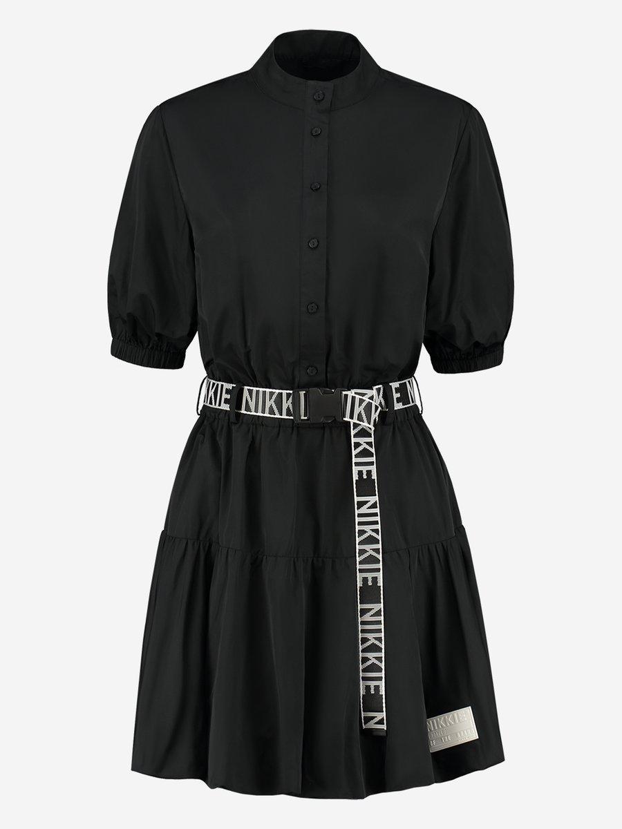 NIKKE  FLEUR DRESS BLACK