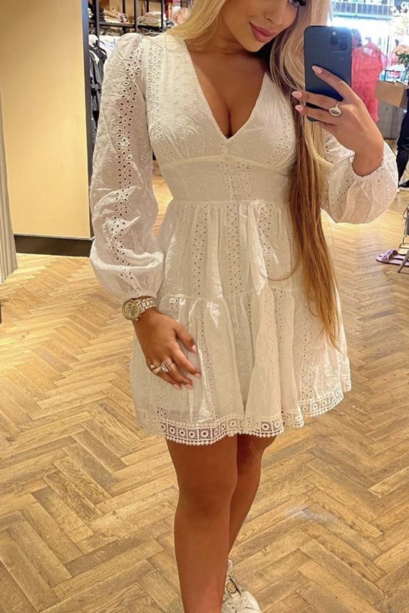 Francisca Dress kant wit NEW