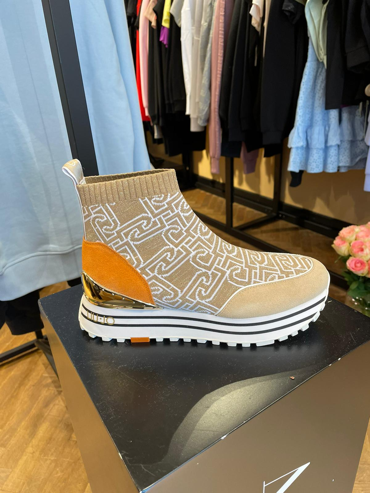 LUIJO Sock sneakers with logo New