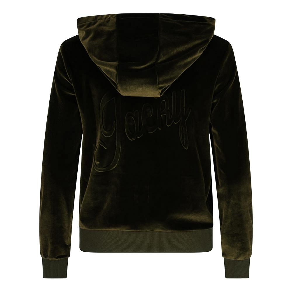 Jacky luxury velvet pak army green New