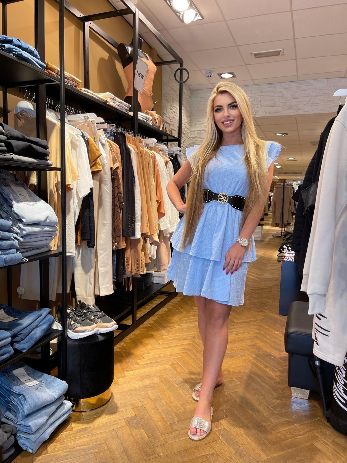 Noa dress blue new