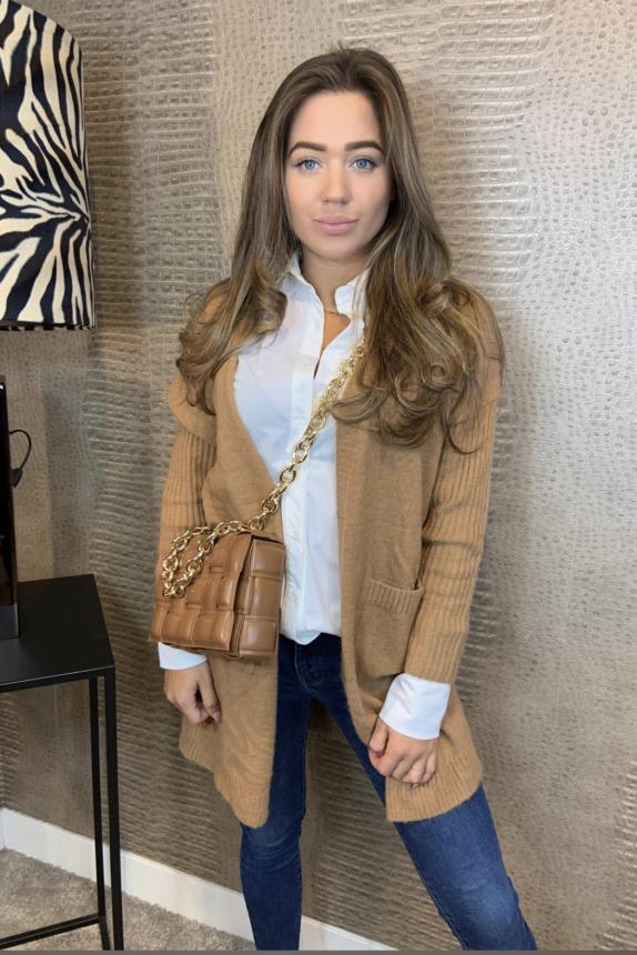 Vest Jessica taupe