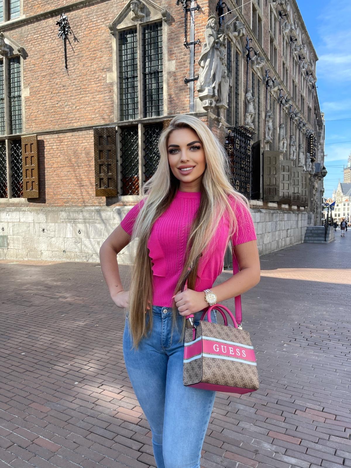 Top pink Olivia