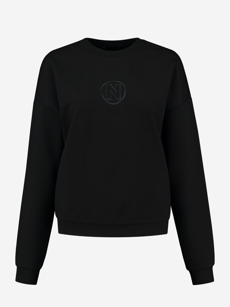 NIKKE  PUNTA BALLOON SWEATER BLACK