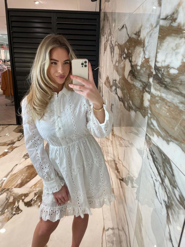 Mirka Dress white New