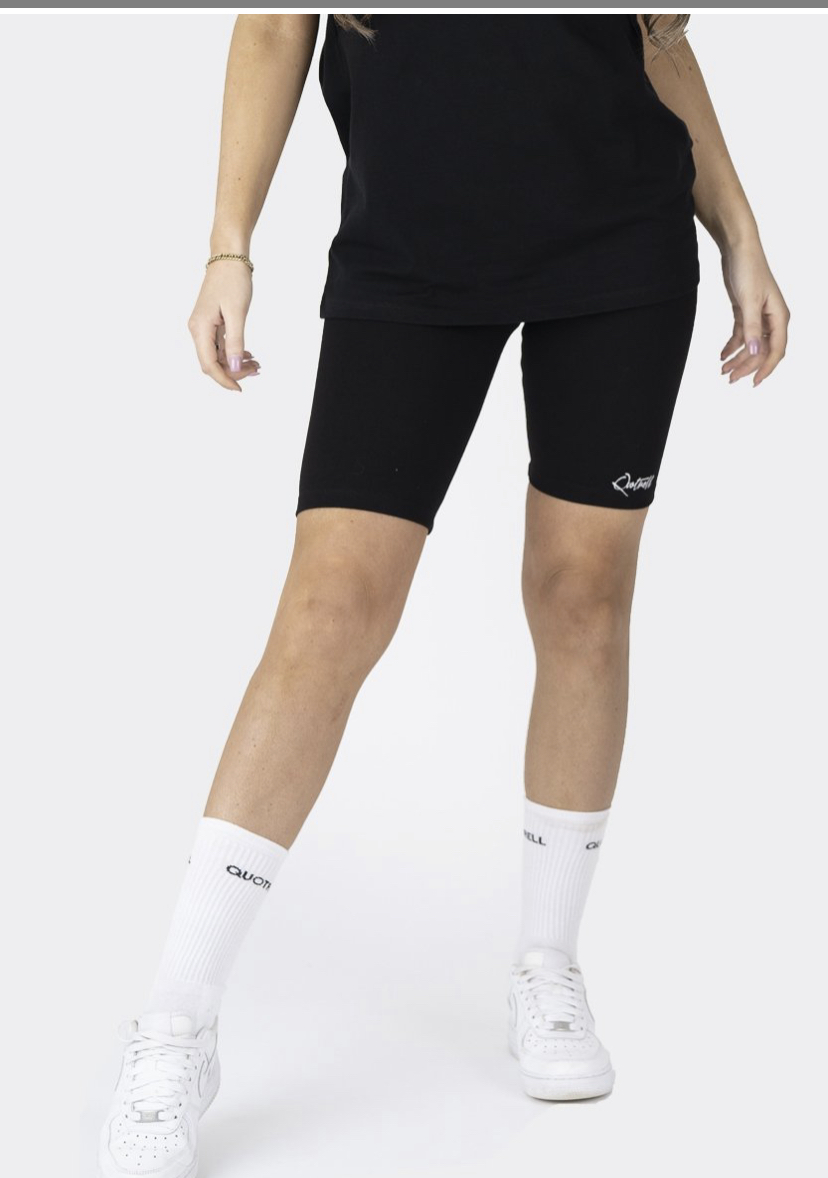 QUOTRELL MONTREAL BIKER SHORT | BLACK