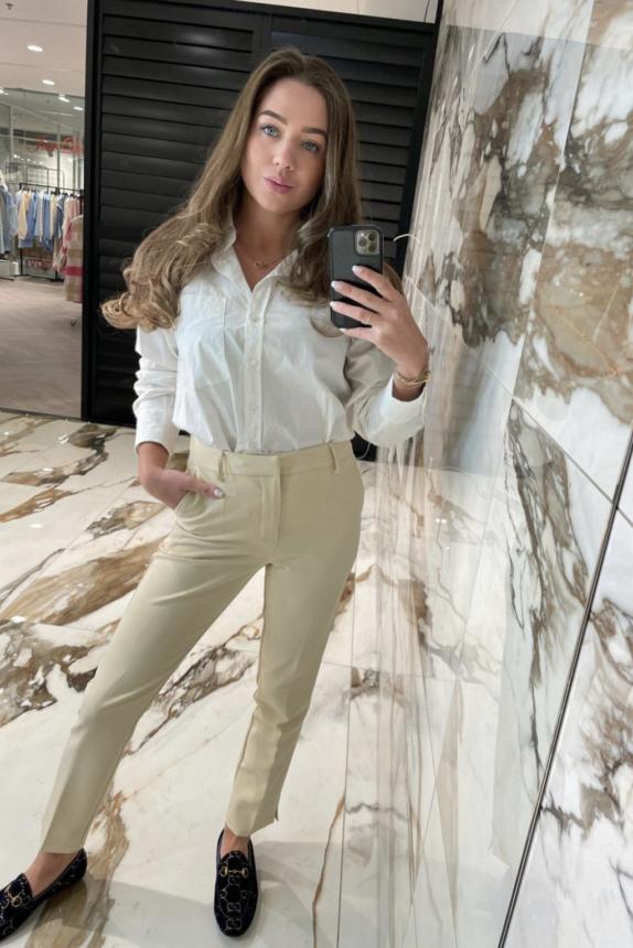 Justdai Ami Pantalon beige