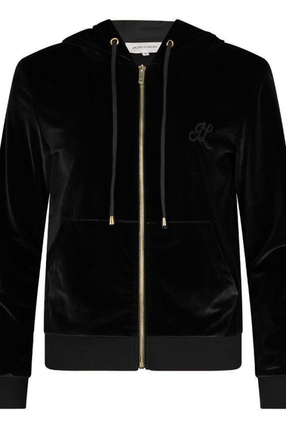 Jacky luxury velvet pak zwart New