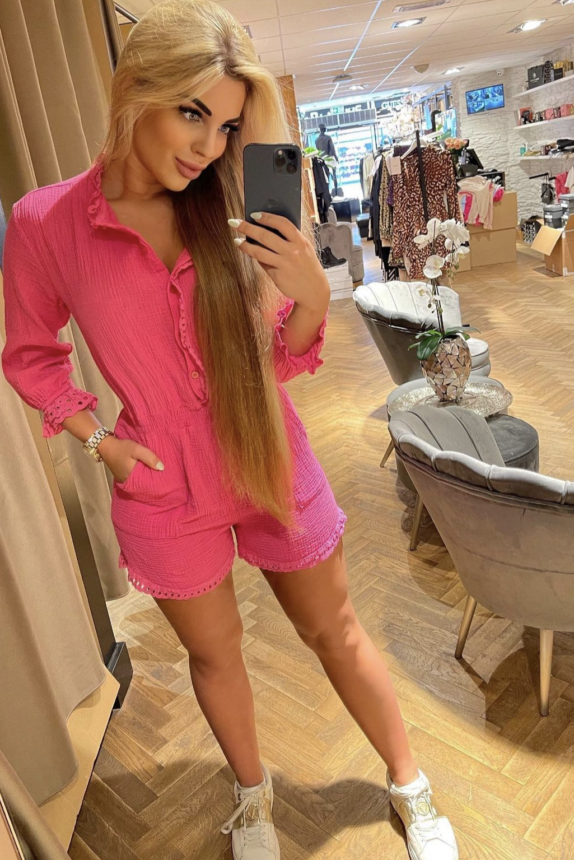 ✨JUNE PLAYSUIT✨PINK NEW