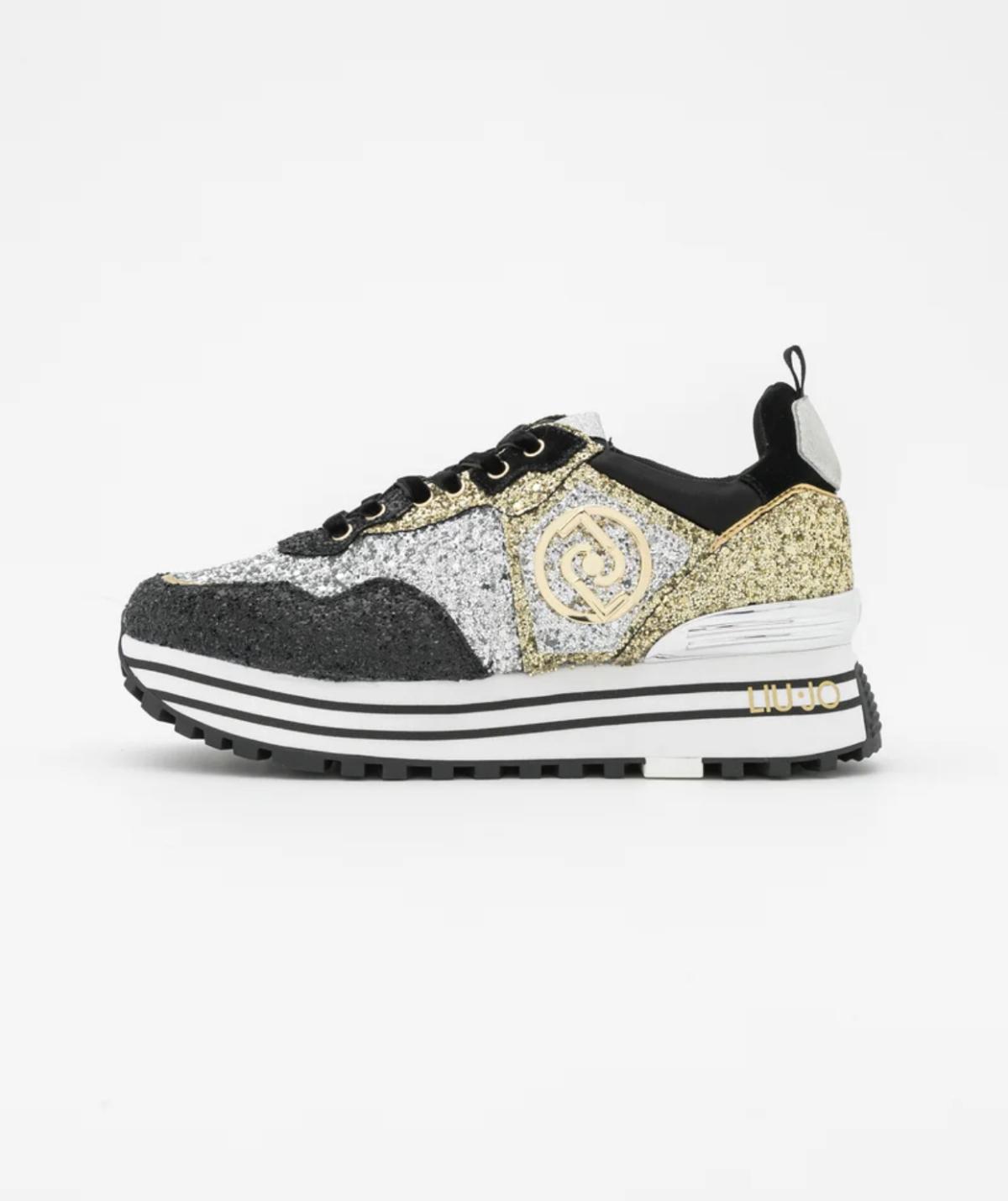 Shop luijo sparkle Gold BLACK