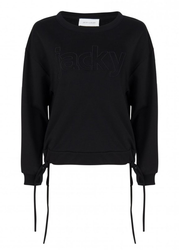 Jacky Luxury JACKY SWEATER BLACK NEW