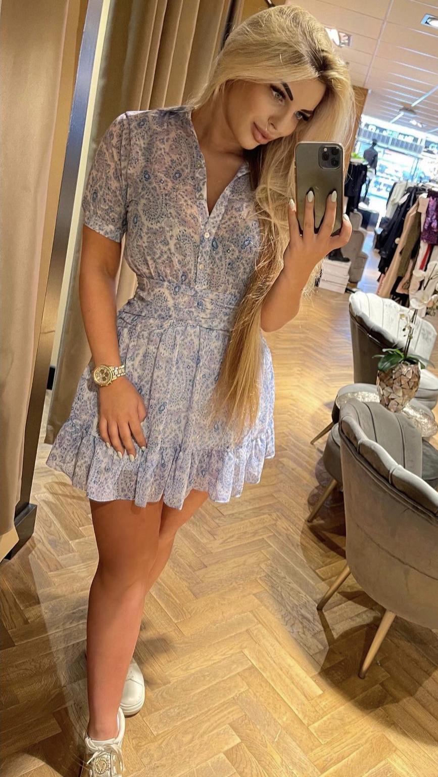 Sofia Dress ICE Blue 💙