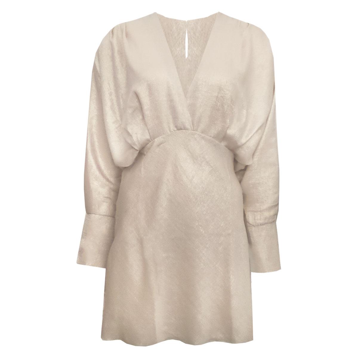 SPARKLE DRESS CHAMPAGNE NEW