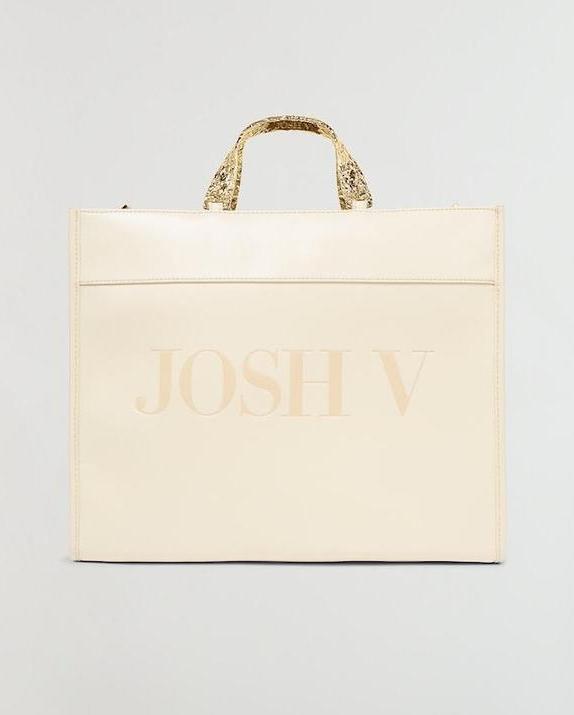 JOSH V  GAYA SHOPPER OFF WHITE