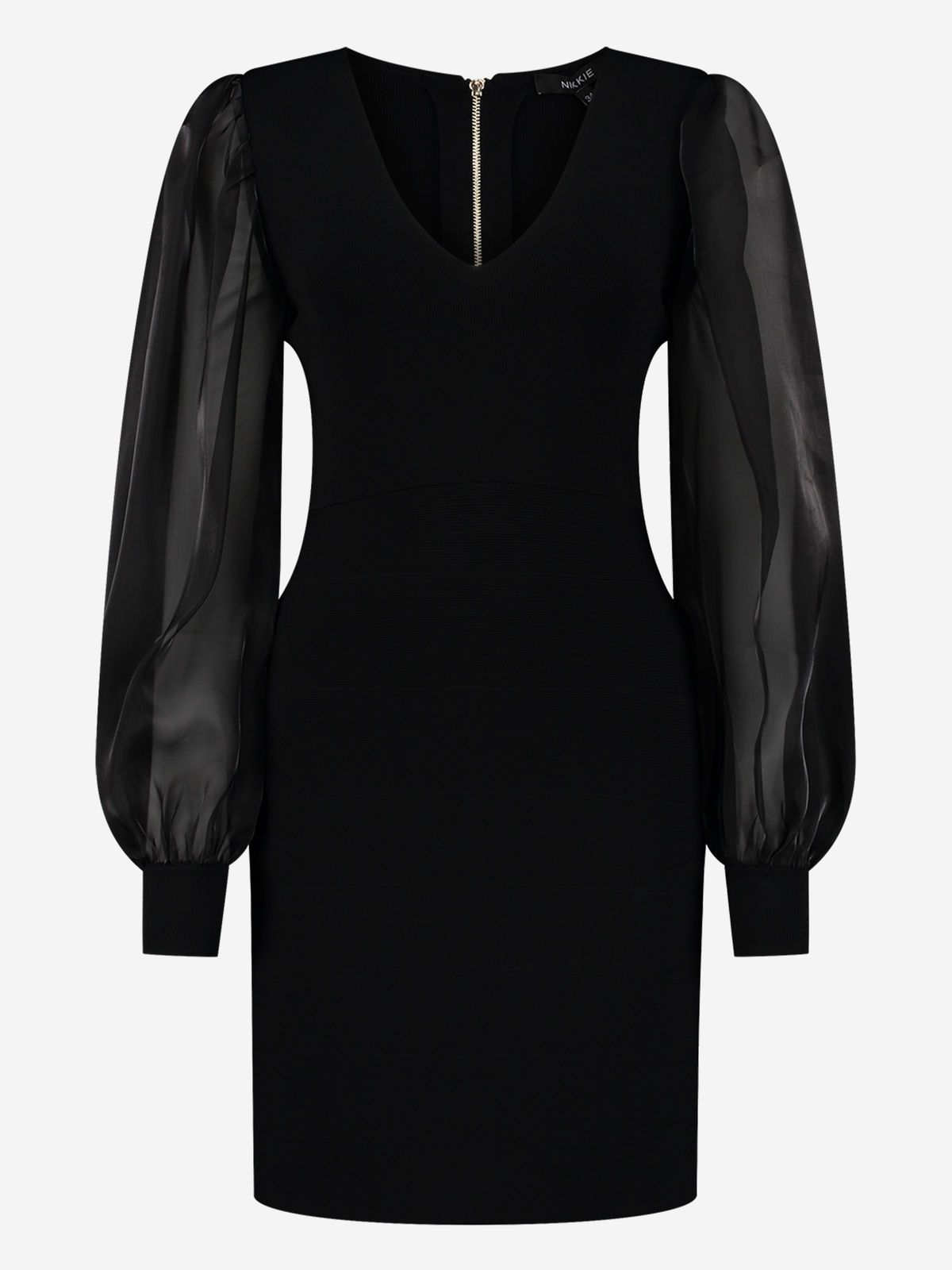 NIKKIE  JAZELLE DRESS BLACK PARTY 🍾