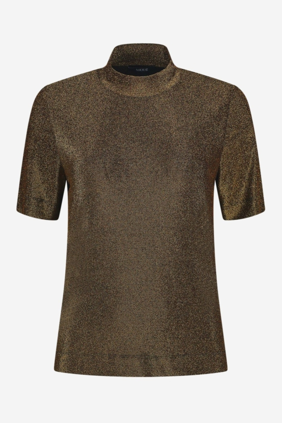 NIKKIE  SPARKLING TOP GOLD Party New