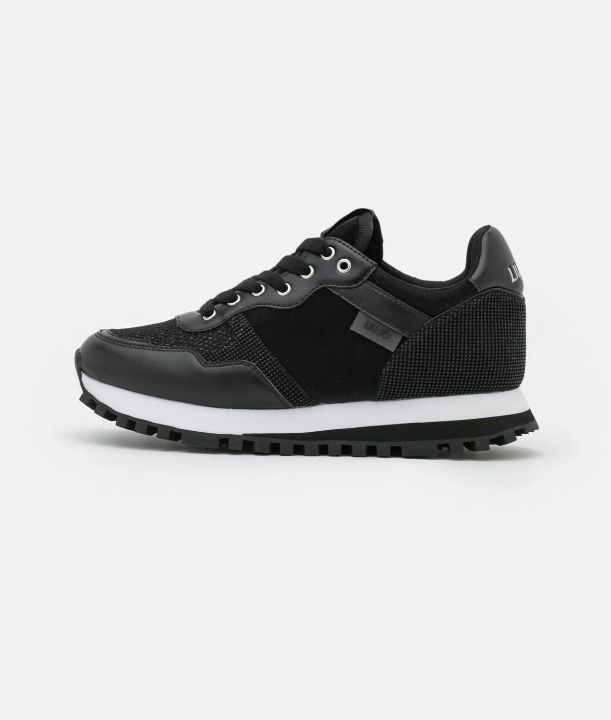 Liu Jo Jeans Sneakers laag Zwart New
