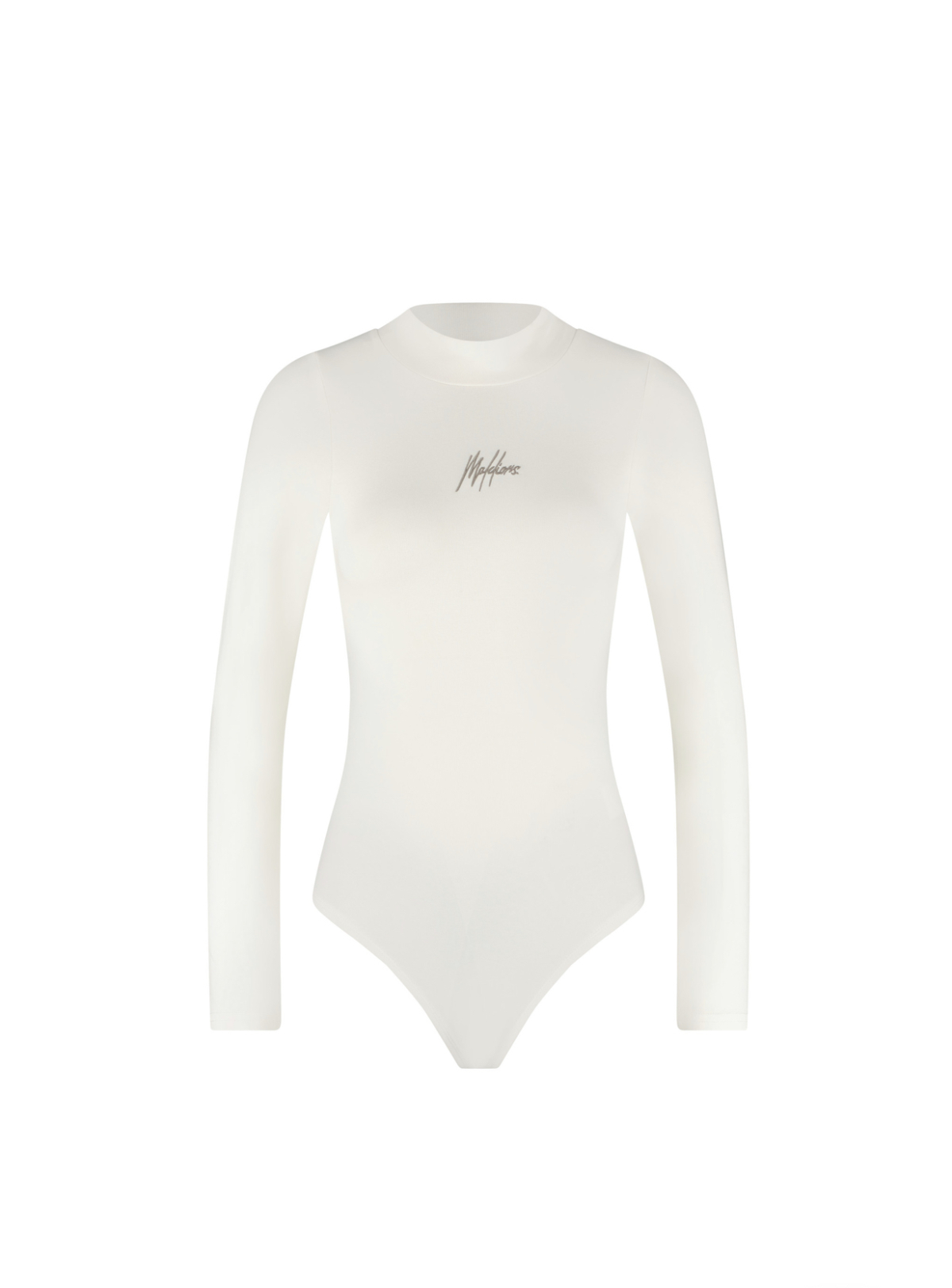 Malelions Women Bodysuit – Off-White/Taupe New