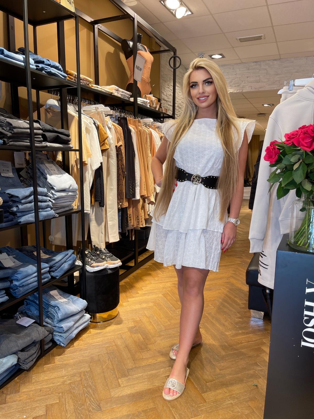 Noa dress white  new