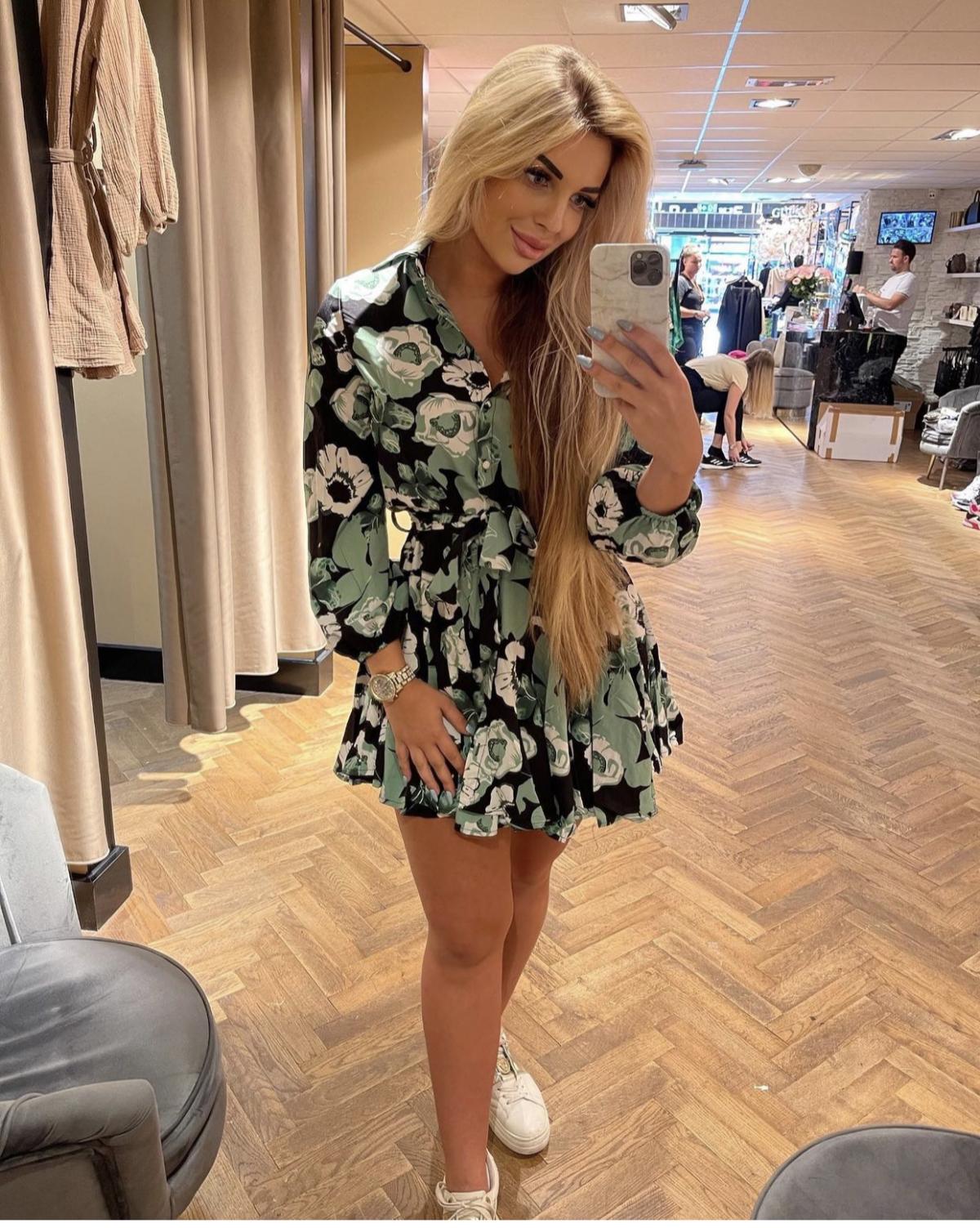 Lindsey flower Dress New
