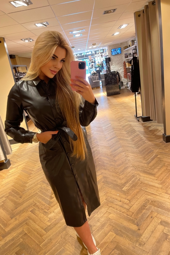 DORY DRESS BLACK MILLA AMSTERDAM